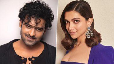 Deepika Padukone Is 'Beyond Thrilled' to Star Next to Prabhas in Upcoming Sci-Fi Film