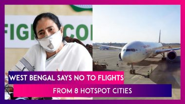 West Bengal Says No To Flights From Eight Hotspot Cities From July 6 For Two Weeks, Writes To Centre