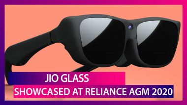 Jio Glass Unveiled At RIL AGM 2020, Reliance Reveals Jio Glass For 3D Interactions; Check Features