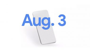 Google Pixel 4a Smartphone To Be Launched on August 3; Officially Teased Online
