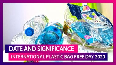 International Plastic Bag Free Day 2020: Celebrating The Day Dedicated To Build A Future Free From Plastic Waste