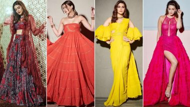 Kriti Sanon Birthday Special: A Bona Fide Stunner Who Weaves Magic With All Her Appearances (View Pics)