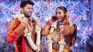Nithiin and Shalini Tie the Knot in Hyderabad! Pics from the Tollywood Couple's Wedding Ceremony Hit the Internet