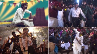 Jagame Thandhiram Song Rakita Rakita Rakita: Makers Treat Dhanush Fans on His Birthday with the First Single and It's A Mass Number! (Watch Video)