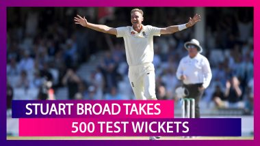 Stuart Broad Takes 500 Wickets in Tests: Statistical Highlights of His Test Career