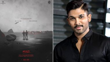 AA 21: Allu Arjun Announces His Upcoming Project With Director Koratala Siva, Says 'Been Looking Forward For This' (View Post)