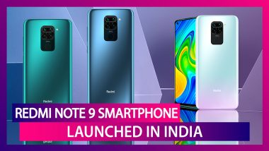 Redmi Note 9 With A 48MP Quad Rear Camera Setup Launched In India; Check Prices, Variants, Features & Specifications
