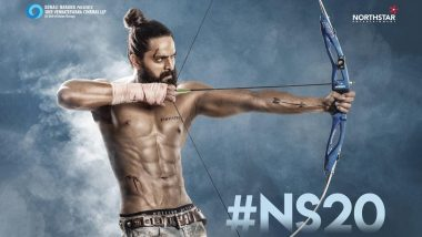 #NS20 First Look: Naga Shaurya Flaunts His Chiseled Abs and Bruises While Practicing Archery (View Pic)