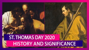 St. Thomas Day 2020: Know The History And Significance of the Day Dedicated To The Apostle