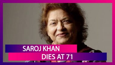 Saroj Khan, Veteran Choreographer Of Iconic Bollywood Songs, Dies Of Cardiac Arrest At 71