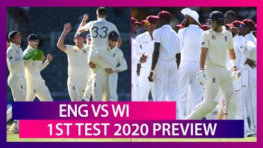 ENG vs WI, 1st Test 2020 Preview: England, West Indies Face-Off As International Cricket Resumes