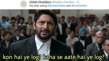 After #SareeTwitter, #JhumkaTwitter and #KurtaTwitter Trend Online WIth Funny Memes & Jokes