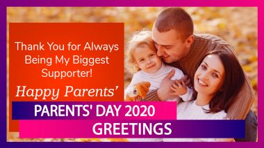 Parents Day 2020 Greetings: Celebrate Parents' Day With WhatsApp Messages, Quotes and Sweet Wishes