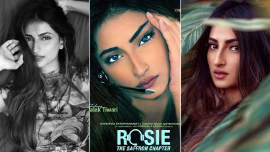 Palak Tiwari to Make Her Bollywood Debut with Rosie The Saffron Chapter! Here's A Look at Some Glammed Up Insta Pics of the Hottie
