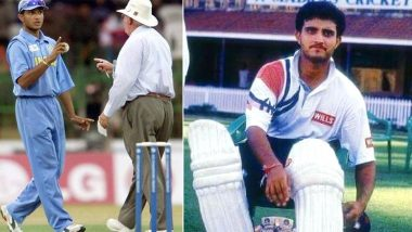 Sourav Ganguly Birthday Special: Rare Pictures of Dada From His Playing Days (See Pics)