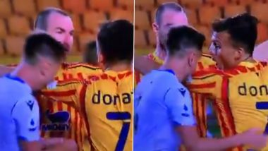 Lazio Defender Patric Sent Off for Biting Lecce Player Giulio Donati During Serie A 2019–20 Clash (Watch Video)