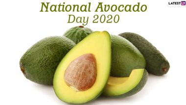 National Avocado Day 2020 (US): From Avocado Chocolate Pudding to Chicken Avocado Burger, Here Are Five Amazing Recipes With This Healthy Fat Fruit (Watch Videos)