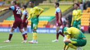EPL 2019–20: Norwich City Relegated From Premier League Following 4–0 Defeat Against West Ham