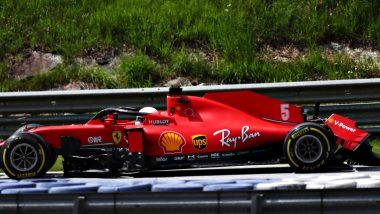 F1: Ferrari Drivers Sebastian Vettel, Charles Leclerc Retire Early From Styrian GP After Collision, Netizens React With Hilarious Memes