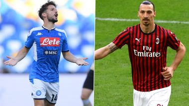 Napoli vs AC Milan, Serie A 2019-20: Dries Mertens, Zlatan Ibrahimovic and Other Players to Watch Out in NAP vs MIL Football Match