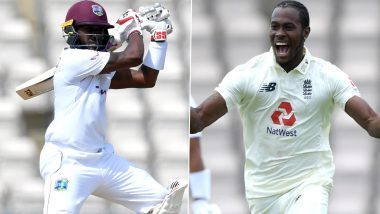 Jofra Archer's Old Tweet About Jermaine Blackwood Goes Viral After West Indian Batsman's Brilliant Outing Against England on Day 5 of 1st Test 2020