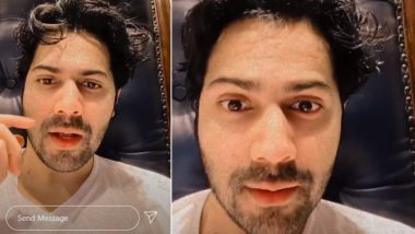 Varun Dhawan Lip-Syncs Guru Randhawa Song 'Lagdi Lahore Di' on Instagram Reel (Watch Video)