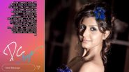 TV Actress Divvya Chouksey Dies of Cancer, Good Friend Sahil Anand Mourns Her Loss (View Post)