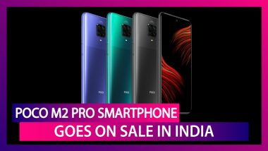 Poco M2 Pro Goes on Sale in India via Flipkart; Check Prices, Features, Variants & Specifications