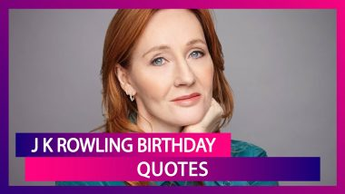JK Rowling Birthday: 6 Best Inspirational Quotes Of The Harry Potter Author