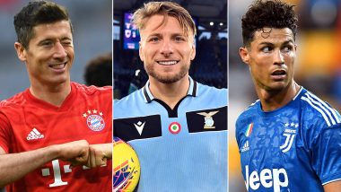 Golden Shoe 2019–20: Robert Lewandowski, Ciro Immobile, Cristiano Ronaldo and Other Top Goal Scorers in Top Five European Leagues