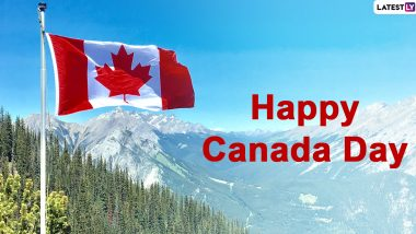 Canada Day 2020 Greetings, HD Images and Wishes: Greet Your Loved Ones Happy Canada Day with These Messages, GIFs and WhatsApp Stickers