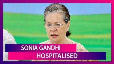 Congress President Sonia Gandhi Admitted To Delhi's Sir Ganga Ram Hospital For 'Routine Tests'
