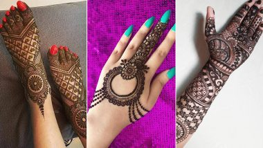 Latest Hariyali Teej 2020 Mehndi Designs: Arabic, Indian, Floral and Portrait Mehendi Pattern Images & Tutorial Videos to Celebrate the Shiva-Parvati Festival Observed By Married Women During Sawan Month