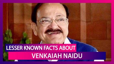 Venkaiah Naidu 71st Birthday: Lesser Known Facts About India's Vice President