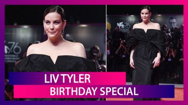 Liv Tyler Birthday Special: Let's Take A Moment To Appreciate Her Brilliant Fashion Choice