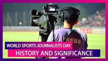 World Sports Journalists Day 2020: Date, History And Significance