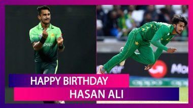 Happy Birthday Hasan Ali: Top Performances By Pakistan Pacer