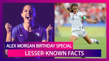 Happy Birthday Alex Morgan: Lesser-Known Facts About The World Cup Winning US Women's Footballer