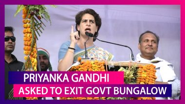 Priyanka Gandhi Vadra Asked To Exit Government Bungalow As SPG Cover Withdrawn, Time Till August 1