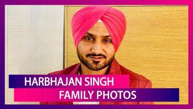 Happy Birthday Harbhajan Singh: Family Photos Of CSK Bowler