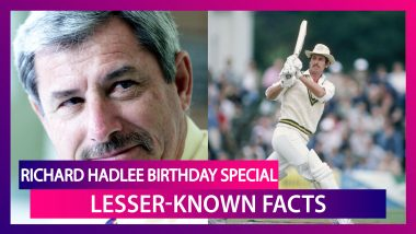 Happy Birthday Richard Hadlee: Lesser-Known Facts About One Of Cricket's Finest All-Rounders