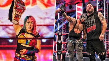 WWE Raw Results and Highlights, July 6, 2020: Kevin Owens, Rey Mysterio Defeat Seth Rollins, Buddy Murphy in Tag Team Match, Asuka Emerges Victorious Over Bayley in 'Champion vs Champion' Contest (View Pics)
