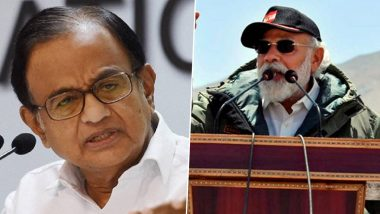 Why PM Modi 'Did Not Name China' in Address to Jawans in Ladakh? Congress' P Chidambaram Asks