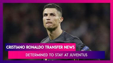 Cristiano Ronaldo Transfer News: Portuguese Star Determined To Stay At Juventus And Win Trophies