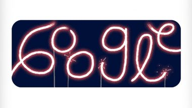Fourth of July 2020 Google Doodle Is a Sparkly Firework GIF and It's Gorgeous! Search Engine Giant Celebrates US Independence Day With Joy & Fervour