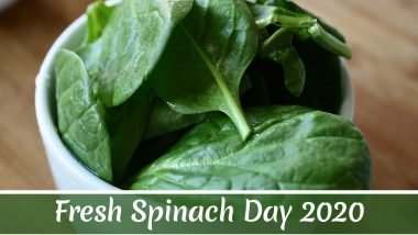 Fresh Spinach Day 2020: From Boosting Immunity to Improving Eyesight, Here Are Five Health Facts About This Green Leafy Vegetable
