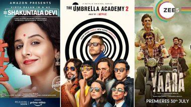 OTT Releases Of The Week: Netflix's The Umbrella Academy 2, Raat Akeli Hai, Amazon Prime's Shakuntala Devi, Zee5's Yaara, Disney+ Hotstar's Lootcase and More