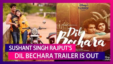Sushant Singh Rajput, Sanjana Sanghi's Dil Bechara Trailer Will Take You On An Emotional Ride