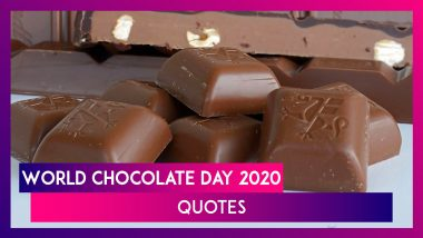 World Chocolate Day 2020 Quotes: Funny Sayings on Chocolates to Celebrate the Sweet Delight!
