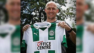 Arjen Robben Comes Out of Retirement to the Rescue of 'COVID-19 Hit' Hometown Club FC Groningen